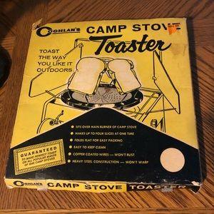 Vintage Camp Stove Toaster Coghlan's Original Box